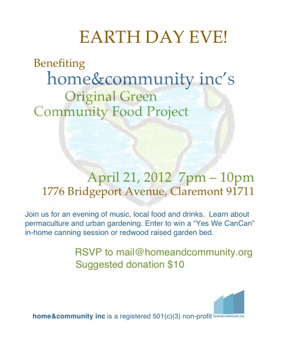 Earth Day Eve